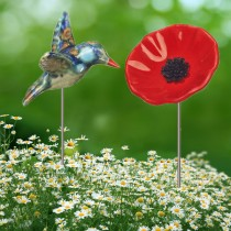 Best Selling Hummingbird and Poppy