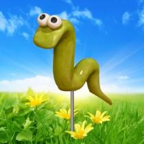 Green Garden Worm